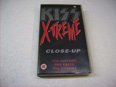 Kiss - Xtreme Close Up - Vhs Originale Pal