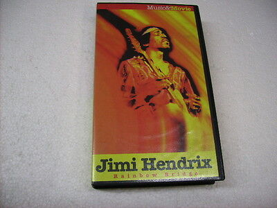 Jimi Hendrix - Rainbow Bridge - Vhs Originale Pal