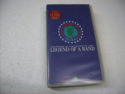 Moody Blues - Legend Of A Band - Vhs Pal Originale