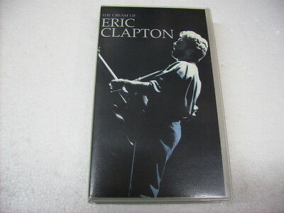 Eric Clapton - The Cream Of - Vhs Pal - Originale