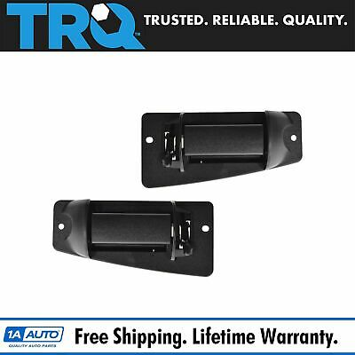 Extended Cab 3rd Third Side Door Handle LH & RH Pair Set for Chevy Truck Cargo