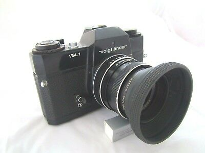 Collectable Vintage Voigtlander VSL1 Black Body SLR Film Camera