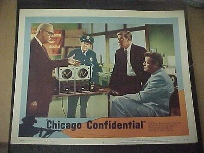CHICAGO CONFIDENTIAL, nr mint orig 1957 LC #4 (Brian Keith, Dick Foran)