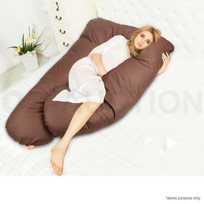 Maternity Pregnancy Nursing Sleeping Body Support Feeding Boyfriend Pillow Large