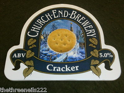 Beer Pump Clip - Church End Cracker