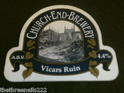 Beer Pump Clip - Church End Vicars Ruin