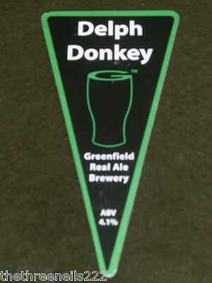 Beer Pump Clip - Greenfield Delph Donkey