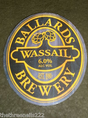 Beer Pump Clip - Ballards Wassail