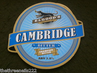 Beer Pump Clip - Elgoods Cambridge Bitter