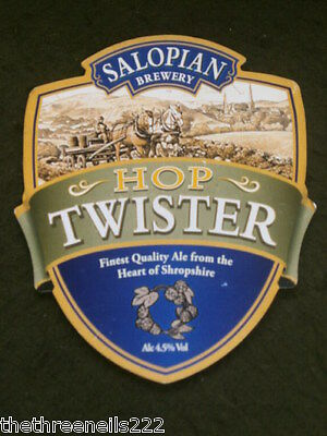 Beer Pump Clip - Salopian Hop Twister