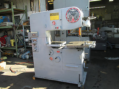 Doall  Model 3613-2 Vertical Band Saw In Great Condition