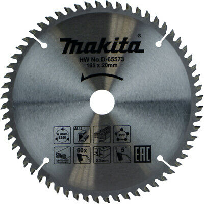 MAKITA TCT SPECIALIZED CORDLESS SAWS BLADE 165mmx20mm 40T B-09232