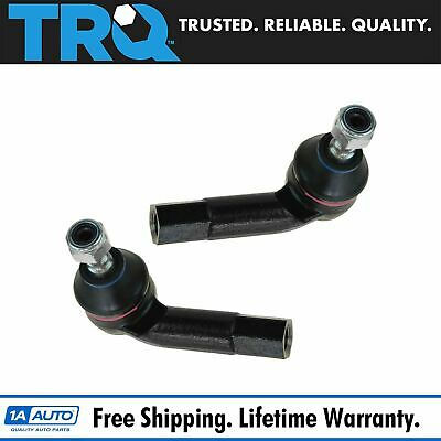 Front Outer Tie Rod End Pair Set Of 2 Left & Right For VW Jetta Golf Beetle MK4