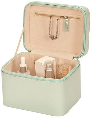 Mele & Co Vanity Case in Misty Green with Handle & Zipped Fastening-Gillian 5116