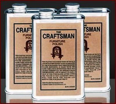 The Craftsman Furniture Polish ~ Made by furniture makers, by hand, ...