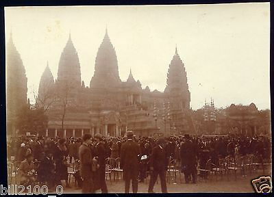 Photo Ancienne .  Exposition Internationale ....