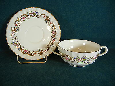 Royal Worcester Bournemouth Cream Soup Bowl and Under Plate Set(s) : soup bowl and plate set - pezcame.com
