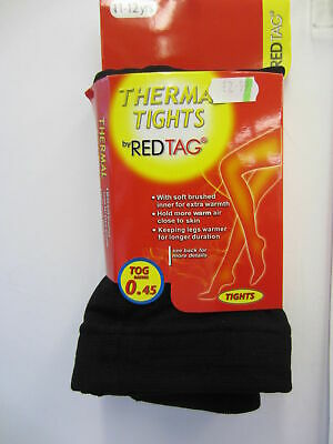 Girls Thermal Tights By Red Tag Style No 46B191     0.45 Tog Rating