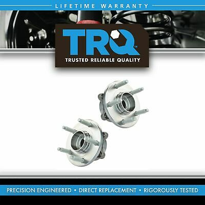 TRQ Front Wheel Hub & Bearing Left & Right Pair Set for Ford Taurus Flex MKS MKT