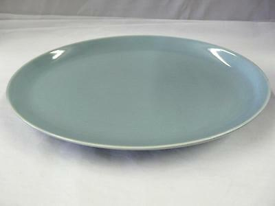 IROQUOIS RUSSEL WRIGHT CASUAL CHINA LIGHT BLUE PATTERN OVAL PLATTER 12-1/2""
