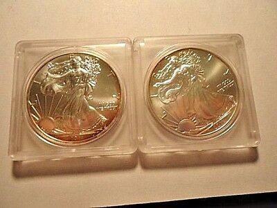 Lot Of 2  2011 1 Troy Oz .999 Silver American Eagle Dollar Coin Bullion