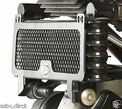 R&G RACING BLACK OIL COOLER GUARD Ducati hypermotard 796 2010-2012