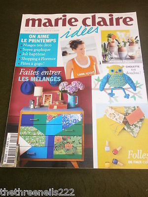 French Marie Claire Idees - Toy Owl - March 2013