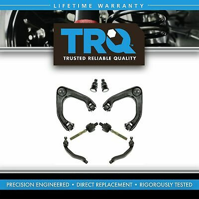 8 Piece Suspension Control Arm Tie Rod Kit Front for 92-96 Honda Prelude