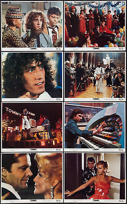 TOMMY original lobby set THE WHO/ANN-MARGRET/KEITH MOON/OLIVER REED/ERIC CLAPTON