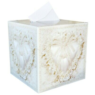 New Decorative Printed Wishing Well Card Box for Wedding Engagement