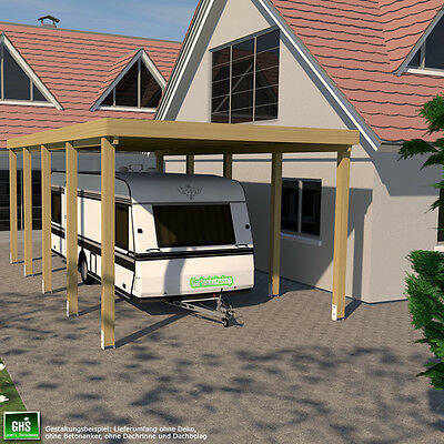 carport 4x8 f r caravan wohnwagen wohnmobil schneelast bis 200 kg qm m glich eur. Black Bedroom Furniture Sets. Home Design Ideas