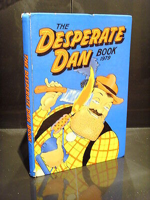 Dc Thomson The Desperate Dan Book 1979 Gc