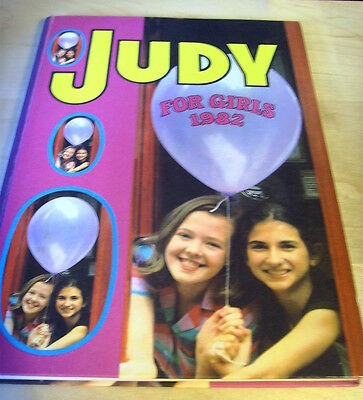 Dc Thomson Judy For Girls 1982 Vgc
