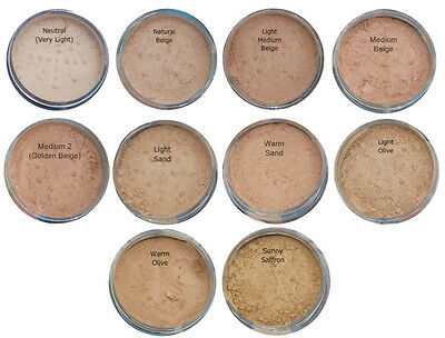 Bare Pure Magic Minerals Foundation Makeup FULL Mineral Cover Acne Rosacea