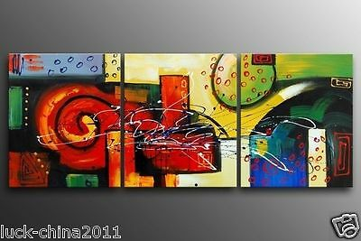 MODERN ABSTRACT HUGE WALL ART OIL PAINTING L618 (no framed)