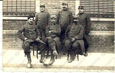 1915 ca WW1 FRANCE Sapeurs du 47e RI en groupe *Photo GRANDE GUERRE