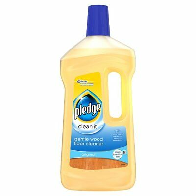Pledge 5 in 1 Wood Soapy Cleaner 750ml - Wood Floor and Furniture Cleaner