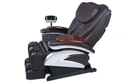 New Full Body Shiatsu Massage Chair Recliner w/Heat  Stretched Foot Rest  06C