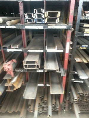 "Steel Channel  2"" x 1"" x 3/16"" x 4'"
