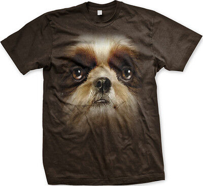 Shih Tzu  3D I Love My Dog Canine Animal Pet FREE SHIPPING New Mens T-shirt