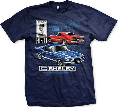 73f0a43a Ford Shelby Cobra Mustang GT 500 Racing Car FREE SHIPPING New Mens T-shirt