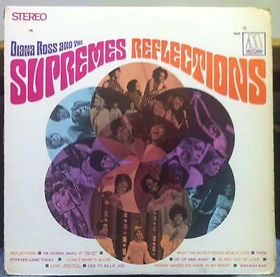 DIANA ROSS & THE SUPREMES reflections LP VG+ MS-665 Motown US Stereo 1968 Soul