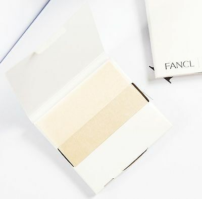 Fancl Face Oil Blotting Paper 1 pack 100 sheets - Made in Japan