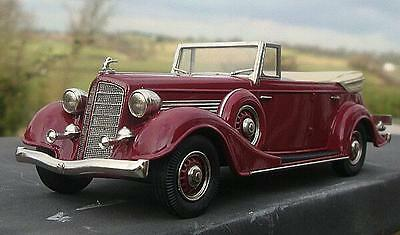 Buick Collection (Brooklin) 1934 Buick Series 60 4d Convertible Phaeton M68-C