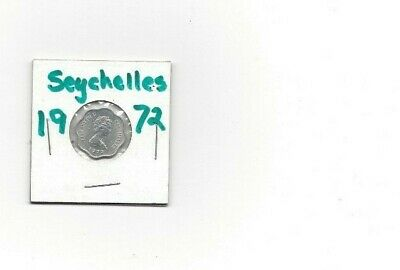 Seychelles Africa 1972  Five Cent  Coin