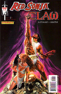 RED SONJA/CLAW #1 New Bagged