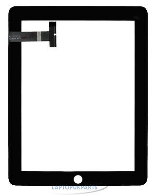 Black Digitizer Glass Touch Panel Screen for Apple iPad1 iPad 1 1st Gen 3G WiFi
