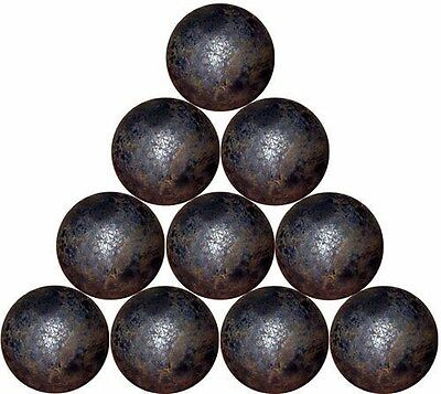 "13 - 1-1/2"" dia. forged steel balls  (7 lbs)"