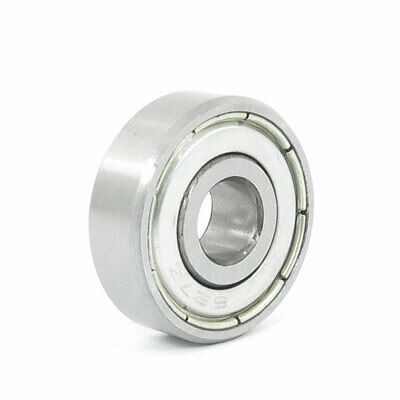 7mm x 22mm x 7mm Metal Silver Tone Sealed Deep Grove Ball Bearing