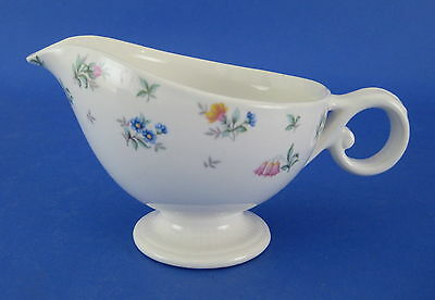 Harmony House Monticello Creamer Flowers Floral Hall China Footed VINTAGE
